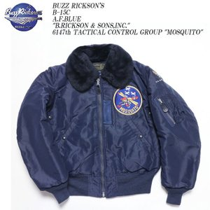 BUZZ RICKSON'S(バズリクソンズ) B-15C A.F.Blue 6147th TACTICAL CONTROL GROUP