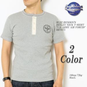 BUZZ RICKSON'S(バズリクソンズ) ヘンリーネックTシャツ