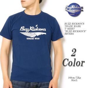 BUZZ RICKSON'S(バズリクソンズ) トレード マーク 半袖Tシャツ