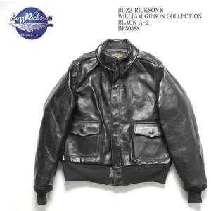 BUZZ RICKSON'S(バズリクソンズ) ウィリアム・ギブソン  コレクション ブラック A-2 BR80388|hinoya-ameyoko