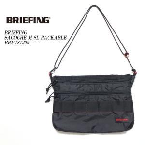BRIEFING(ブリーフィング) サコッシュ M SL パッカブル BRM181205|hinoya-ameyoko