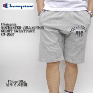 CHAMPION(チャンピオン) ROCHESTER COLLECTION SHORT SWEAT PANTS C3-D507|hinoya-ameyoko