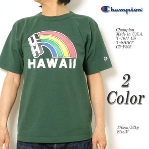 CHAMPION(チャンピオン) Made in U.S.A. T-1011 US T-SHIRT C5-P303|hinoya-ameyoko