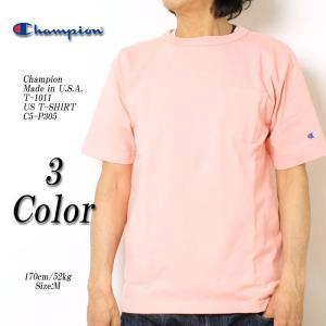 CHAMPION(チャンピオン) Made in U.S.A. T-1011 US T-SHIRT C5-P305|hinoya-ameyoko