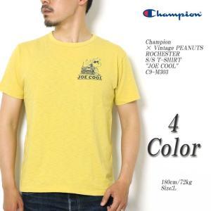 Champion × Vintage PEANUTS(チャンピオン) ロチェスター 半袖Tシャツ