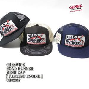 CHESWICK(チェスウィック) ROAD RUNNER MESH CAP 『FASTEST ENGINE』 CH02337|hinoya-ameyoko