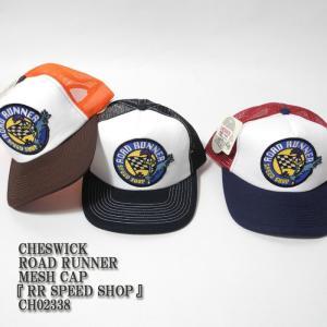 CHESWICK(チェスウィック) ROAD RUNNER MESH CAP 『RR SPEED SHOP』 CH02338|hinoya-ameyoko