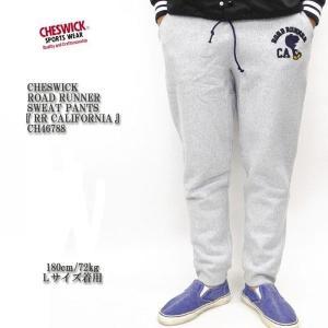 CHESWICK(チェスウィック) ROAD RUNNER SWEAT PANTS 『RR CALIFORNIA』 CH46788|hinoya-ameyoko