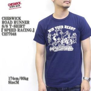 CHESWICK(チェスウィック) ROAD RUNNER S/S T-SHIRT  『SPEED RACING』 CH77048|hinoya-ameyoko