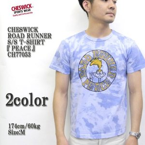 CHESWICK(チェスウィック) ROAD RUNNER S/S T-SHIRT 『PEACE』 CH77053|hinoya-ameyoko