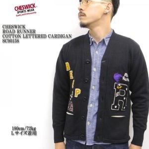 CHESWICK(チェスウィック) ロードランナー COTTON LETTERED CARDIGAN CH90158|hinoya-ameyoko