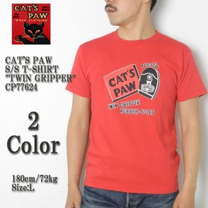 CAT'S PAW (キャッツポウ) 半袖Tシャツ