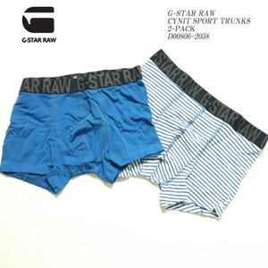 G-STAR RAW (ジースター ロウ) シニット スポーツトランクス 2パック D00806-2058|hinoya-ameyoko