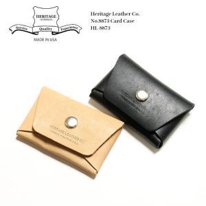 Heritage Leather Co. (ヘリテージ レザー) No.8873 カードケース HL-8873|hinoya-ameyoko