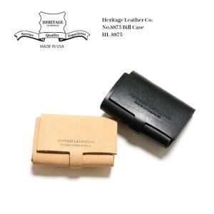 Heritage Leather Co. (ヘリテージ レザー) No.8875 ビルケース HL-8875|hinoya-ameyoko