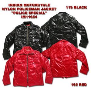 INDIAN MOTORCYCLE (インディアン モーターサイクル) NYLON POLICEMAN JACKET 『POLICE SPECIAL』 IM11654 hinoya-ameyoko