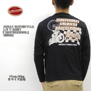 INDIAN MOTORCYCLE(インディアンモーターサイクル) L/S T-SHIRT 『BROTHERHOOD』 IM66821|hinoya-ameyoko