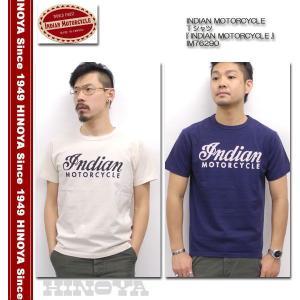 INDIAN MOTORCYCLE(インディアンモーターサイクル) Tシャツ 『INDIAN MOTORCYCLE』 IM76290|hinoya-ameyoko
