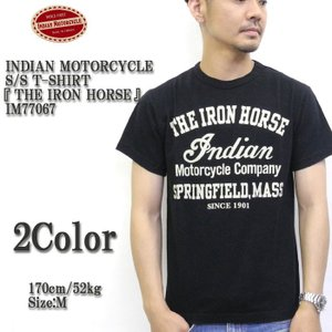 INDIAN MOTORCYCLE(インディアンモーターサイクル) S/S T-SHIRT 『THE IRON HORSE』   IM77067|hinoya-ameyoko