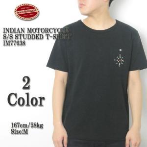 INDIAN MOTORCYCLE(インディアンモーターサイクル) スタッツ Tシャツ IM77638|hinoya-ameyoko