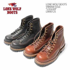 LONE WOLF BOOTS(ローンウルフブーツ) VIBRAM SOLE 『LOGGER』 LW00125|hinoya-ameyoko