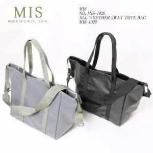 MIS (エムアイエス) NO. MIS-1026 オールウェザー 2WAY トートバッグ MIS-1026|hinoya-ameyoko