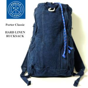 Porter Classic  (ポータークラシック) ハードリネン リュックサック PC-021-575 hinoya-ameyoko
