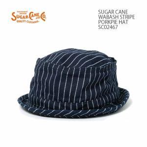 SUGARCANE(シュガーケーン) ウォバッシュ ポークパイハット SC02467|hinoya-ameyoko