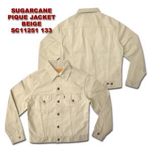 SUGARCANE(シュガーケーン) PIQUE JACKET SC11251|hinoya-ameyoko