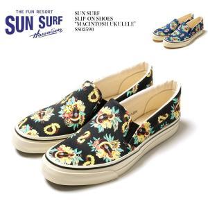 "SUN SURF(サンサーフ) スリッポンシューズ ""MACINTOSH UKULELE""  SS02590 hinoya-ameyoko"
