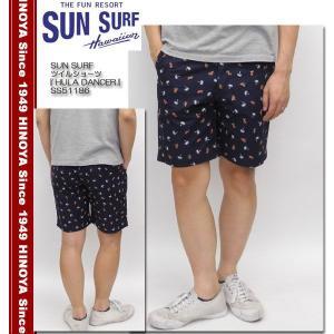 SUN SURF(サンサーフ) ツイルショーツ 『HULA DANCER』 SS51186 hinoya-ameyoko