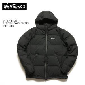 WILD THINGS (ワイルドシングス) オーロラ ダウンパーカー WT17111N|hinoya-ameyoko
