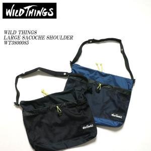 WILD THINGS (ワイルドシングス) サコッシュ ラージ ショルダーバッグ WT3800085|hinoya-ameyoko