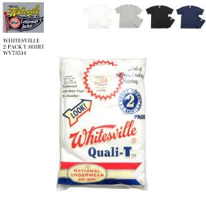 WHITESVILLE(ホワイツビル) 2パック 半袖 Tシャツ WV73544 hinoya-ameyoko