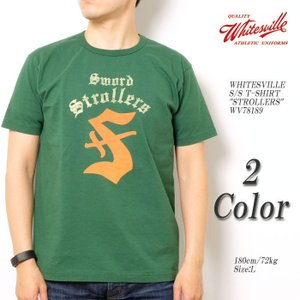 WHITESVILLE(ホワイツビル) 半袖Tシャツ
