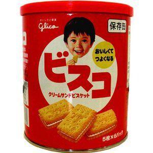 グリコのロングセラー商品「ビスコ」が賞味期限5年の備蓄商品として新発売!