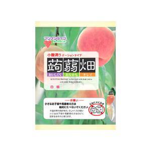 マンナンライフ 蒟蒻畑 白桃味 25g×12個入の商品画像