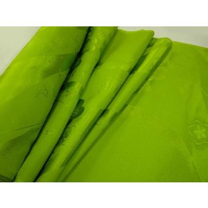 正絹 振袖用長襦袢 反物18m 黄緑無地 反物巾38cm|hinoyajp2000