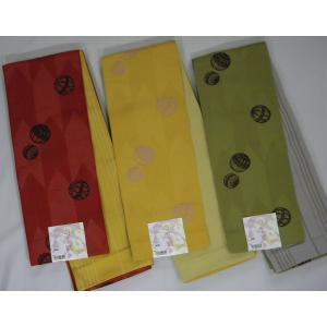半巾帯 小袋帯 両面長尺細帯 毬柄|hinoyajp2000