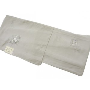 洗える着物 絽 夏物単衣仕立て 小紋柄撫子柄 プレタ着物 Mサイズ hinoyajp2000