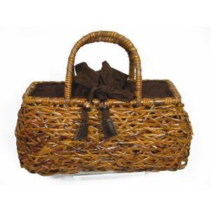 カゴバッグ 天然素材 夏用バッグ 浴衣トート ラタン製 中型|hinoyajp2000