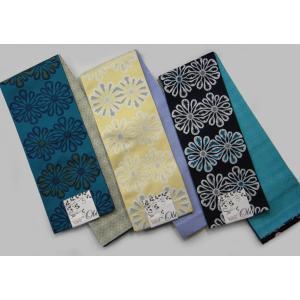 半巾帯 小袋帯 両面長尺細帯 花柄|hinoyajp2000