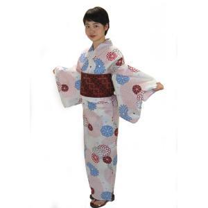 上質な変り織り生地に伝統柄のワンランク上のこだわり浴衣です。 ●さらりとした変り織り生地がとっても涼...