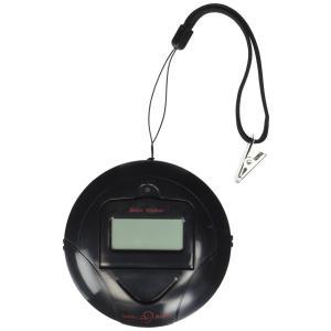 携帯型振動式目覚まし時計 ソニックシェーカー Black