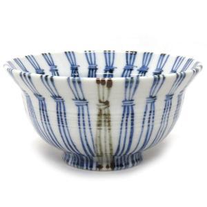 和食器 九谷焼 ご飯茶碗 わら縞 AK5-0455