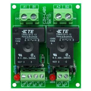 Electronics-Salon CZH-ラボ12Vパッシブ2 SPST-NO 30アンペア電源リ...