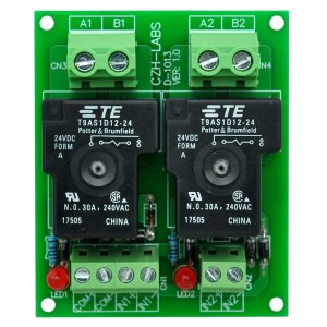 Electronics-Salon CZH-ラボ24Vパッシブ2 SPST-NO 30アンペア電源リ...