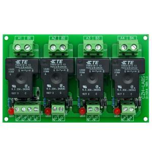 Electronics-Salon CZH-ラボ12V受動4 SPST-NO 30アンペア電源リレー...