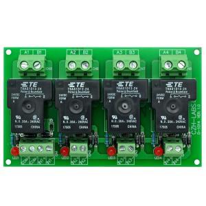 Electronics-Salon CZH-ラボ24V受動4 SPST-NO 30アンペア電源リレー...