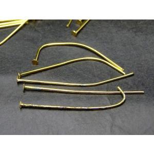 天然石 パワーストーン 54423 わけあり Tピン 40mm 10g ゴールド パーツ アクセサリー作り 送料無料有|hinryo